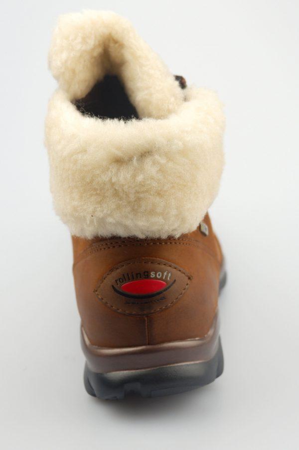 Gabor rollingsoft sensitive 76.956.45 brown leather    WATERPROOF GORE-TEX