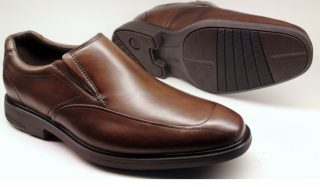 Clarks slip-on ENERGISE ME chestnut leather