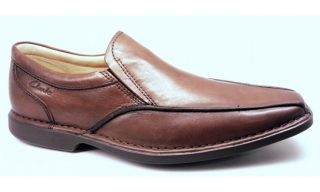 Clarks slip-on FORREST FALL walnut leather