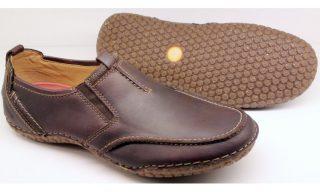 Clarks slip-on RIOT FLARE chestnut leather