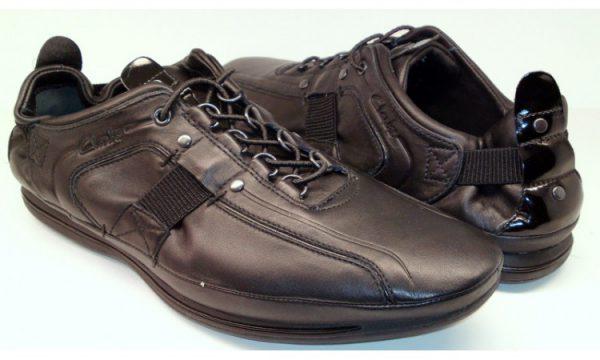 Clarks slip-on ROMANO SPEED black leather