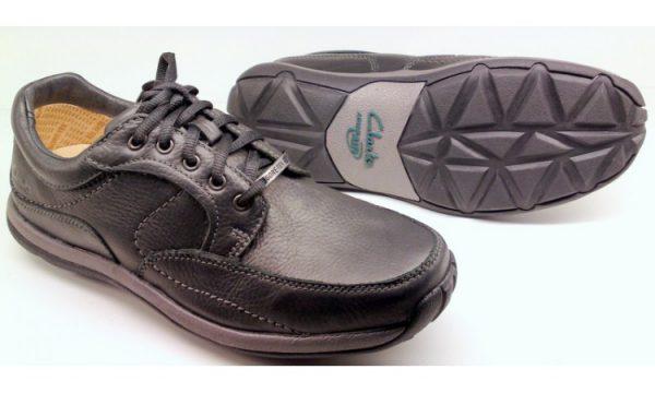 Clarks SPY MAN GTX (goretex)black leather