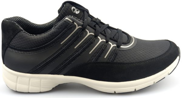 Gabor sport series 74.352.17 black mesh/nubuck