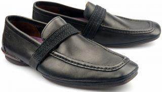 Clarks MYTH MIST black leather