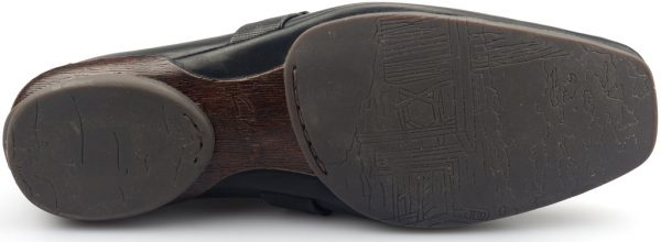 Clarks MYTH MIST black leather