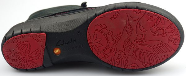 Clarks UNSTRUCTURED ankle boots UN MOON black interest leather