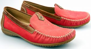 Gabor moccasins 66.090.48 red nubuck
