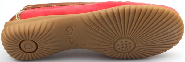 Gabor moccasins 66.090.48 red nubuck