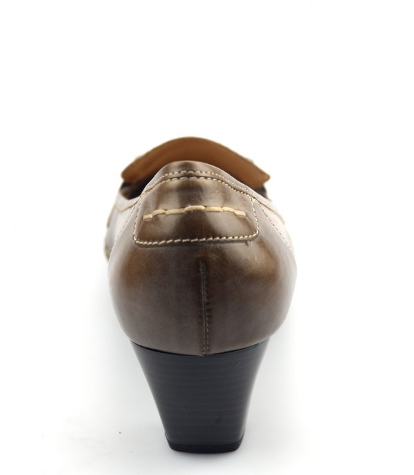 Gabor pumps 05.380.73 fumo taupe leather