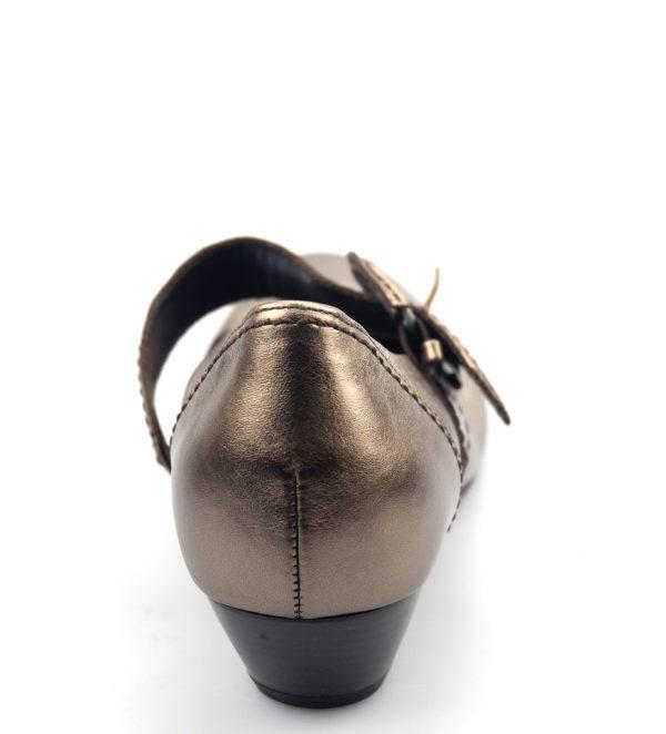 Gabor pumps 86.138.90 metallic bronze/silver leather
