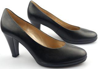 Gabor pumps 35.220.27 black leather