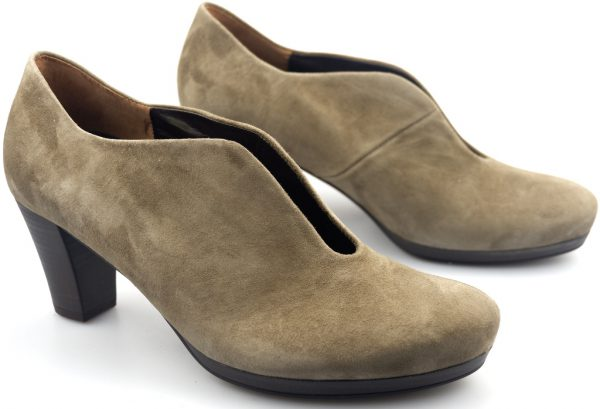 Gabor pumps 32.189.43 grey suede