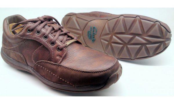 Clarks SPY MAN GTX brown leather                            GORETEX waterproof