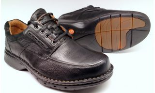Clarks UNSTRUCTURED UN BEND black leather