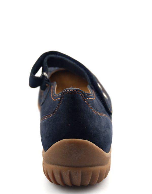 Gabor flat slip-on 46.097.46 dark blue nubuck