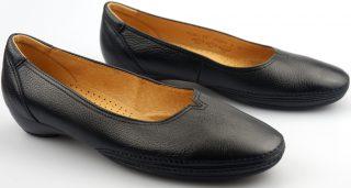 Gabor ballerina pumps 04.280.27 black leather