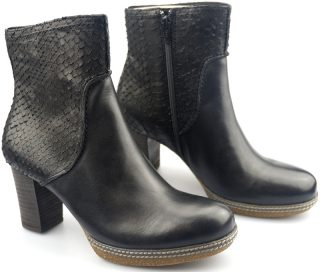 Gabor ankle boots 32.870.67 black leather