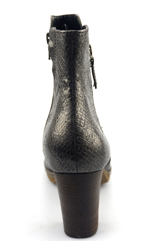 Gabor ankle boots 32.871.23 green leather   snake print