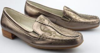 Gabor slip-on 86.323.90 silver metallic leather