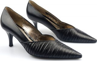 Gabor wedding pumps 61.223.27 black leather
