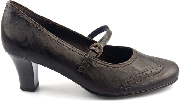 Gabor pumps 52.198.85 brown leather