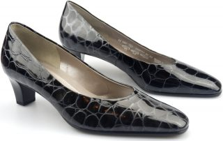 Gabor pumps 75.180.92 metallic croco leather