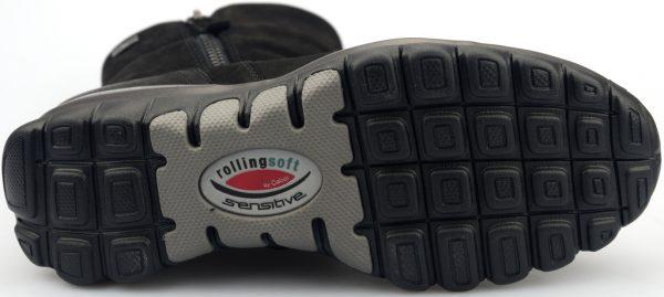 Gabor rollingsoft sensitive 76.957.47 black nubuck    WATERPROOF GORE-TEX