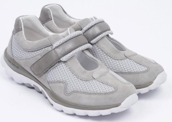 Gabor rollingsoft sensitive 46.961.23 grey silver nubuck mesh women shoes
