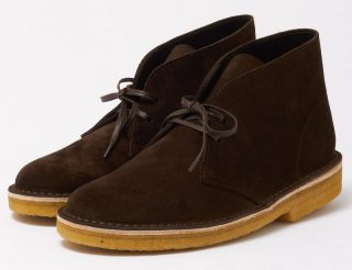 Clarks Originals DESERT BOOT brown suede boots for men