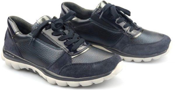 Gabor rollingsoft sensitive 76.963.66 blue nubuck/leather