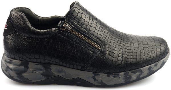 Gabor rollingsoft sensitive 56.993.97 black nubuck leather
