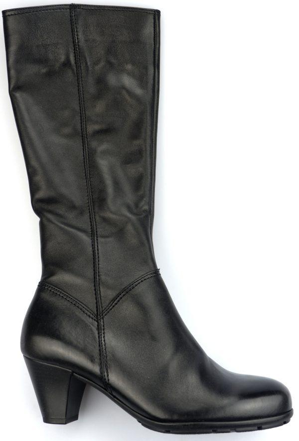 Gabor boots 51.649.27 black leather         NARROW LEG