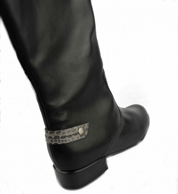 Gabor boots 16.567.61 black WIDE LEG