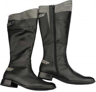 Gabor boots 16.567.61 black WIDE LEG