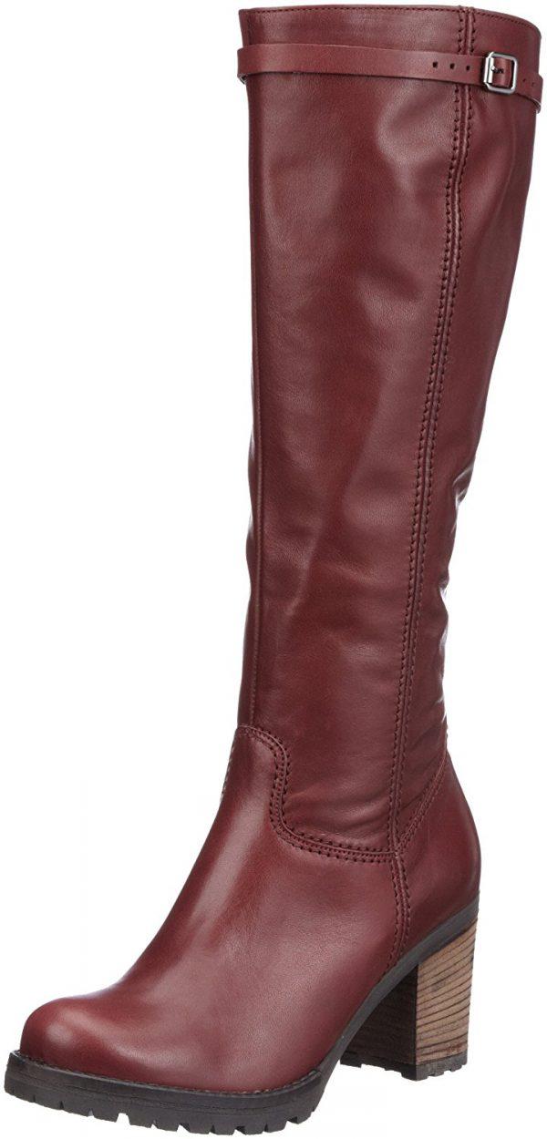 Gabor 53.600.25 leather boots wine red    MEDIUM SHAFT