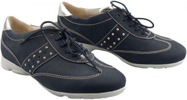 Gabor sneakers 42.555.46 dark blue nubuck