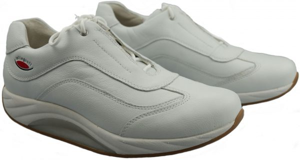 Gabor rollingsoft 46.920.50 white leather rollingshoes for women