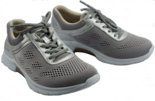 Gabor rollingsoft sensitive 46.951.83 silver grey mesh and nubuck