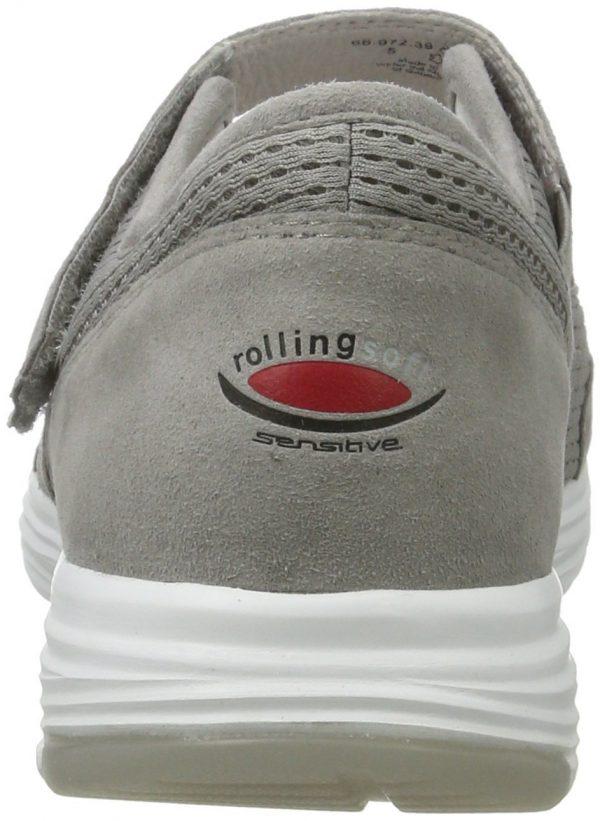 Gabor rollingsoft 66.972.39 grey textile mesh  VELCRO