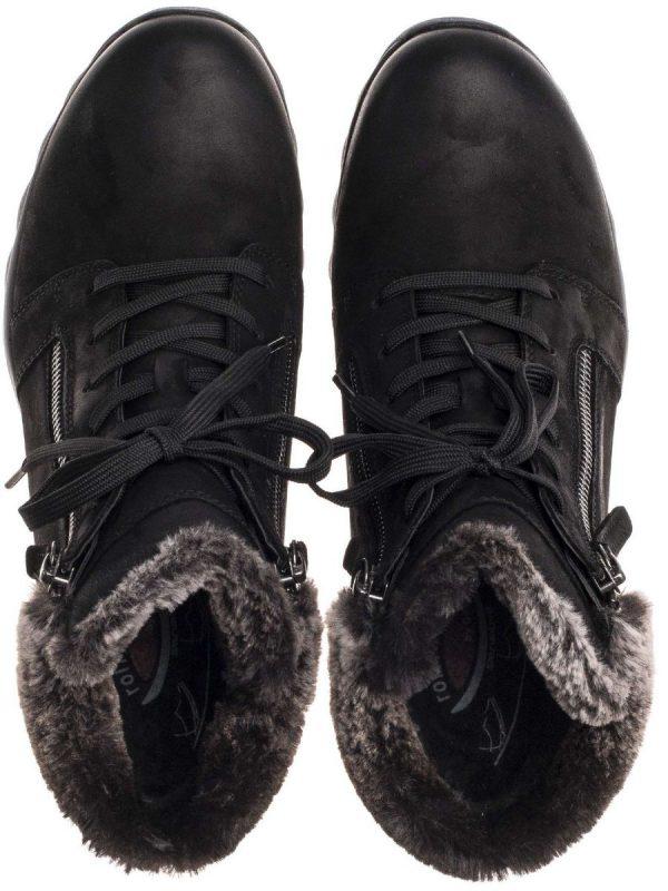 Gabor rollingsoft sensitive 96.956.47 nubuck ankle boot black
