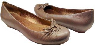 Clarks ballerina pumps CLOUD PUFF silver leather