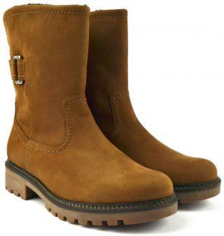 Gabor 91.813.84 nubuck mid-high boot women brown