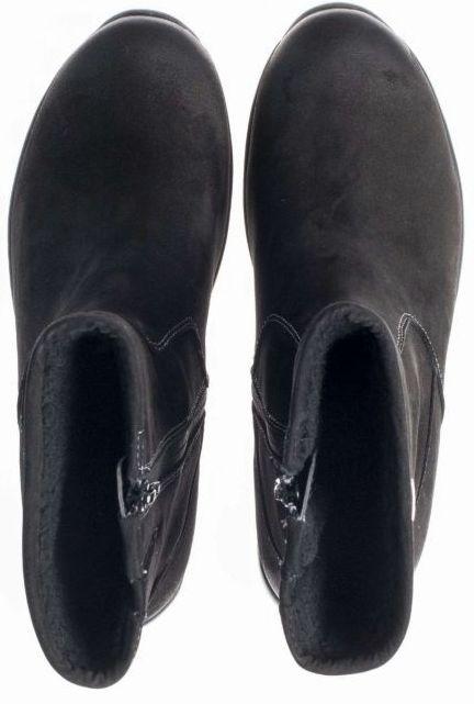 Gabor rollingsoft sensitive 96.930.47 nubuck black WATERPROOF ankle boot for women