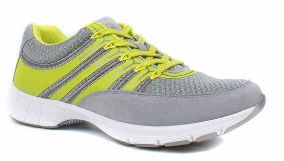 Gabor 64.352.49 grey yellow women sport sneaker