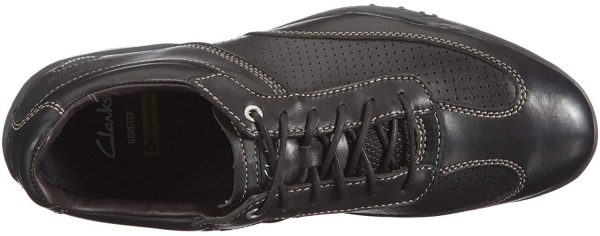 Clarks RACE LINE GTX black leather                             GORETEX waterproof