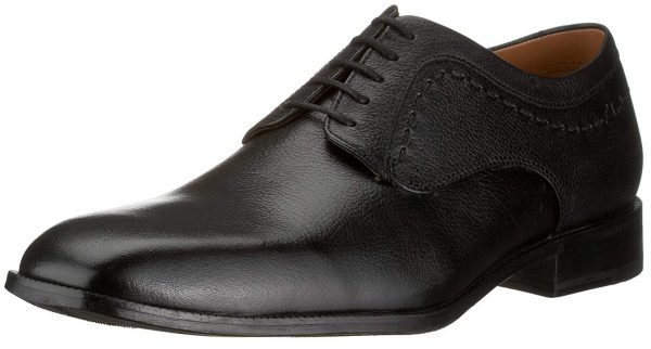 Clarks FAIR LATTE black tumbled leather