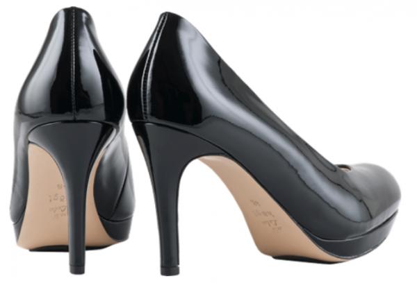 Högl pumps Studio 80 0-128004-0100 black leather