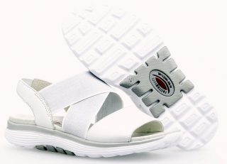 Gabor Rollingsoft 26.915.50 Women's Walking Sandal - White