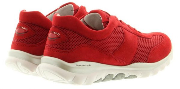 Gabor Rollingsoft 26.966.68 Women Rolling Shoes - Red