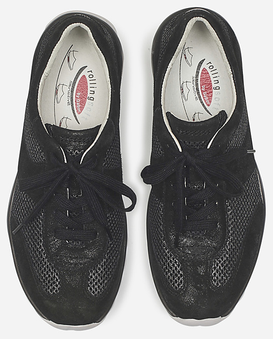 Gabor Rollingsoft 26.966.97 Women Rolling Shoes - Black